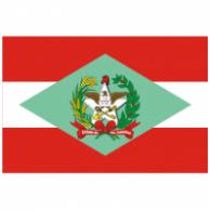 Logo of Bandeira do Estado de Santa Catarina - Brasil