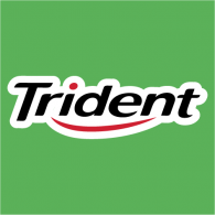trident brands of the world download vector logos and logotypes rh brandsoftheworld com Mentos Gum Logo Extra Gum Logo