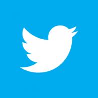 Logo of Twitter 2012 Negative