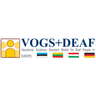 Logo of VOGS+DEAF