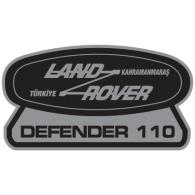 range rover logo vector. logo of land rover defender 110 range vector v