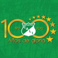 Logo of Deportivo Cali - 100 anos - 2012