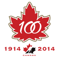 Logo of Hockey Canada's 100th Anniversary