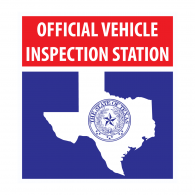 Logo of Texas Official Vehicle Inspection Station