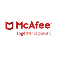 Logo of McAfee
