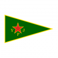 Logo of YPJ Flag