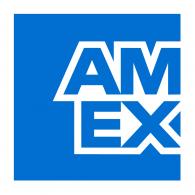 Logo of AMEX American Express