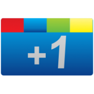 Logo of Google +1