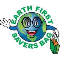 Logo of Earth First Savers Bag