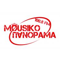 Logo of Mousiko Panorama 100.8FM