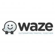 Logo of Waze