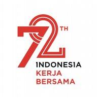 Logo of HUT RI ke-72