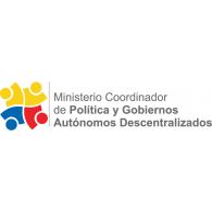 Logo of Ministerio de Coordinación de la Política y Gobiernos Autónomos Descentralizados, Ecuador