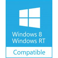 Logo of Windows 8/RT Compatible
