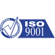 iso 9001 brands of the world vector logos