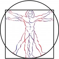 Logo of Vitruvian Man