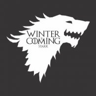 Logo of Winter is Coming - Stark