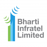 Logo of Bharti Infratel