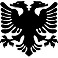 Logo of Albanian Eagle - Flag of Albania