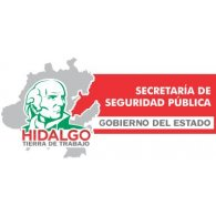 Logo of Secretaria de Seguridad Pública. Gobierno del Estado de Hidalgo. Lic. Francisco Olvera Ruiz