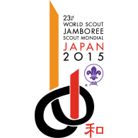 Logo of 23rd World Scout Jamboree Japan 2015