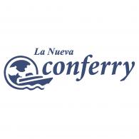 """Logo of Consolidada de Ferrys """"Conferry"""""""