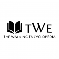 Logo of The Walking Encyclopedia