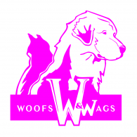 Logo of Woofs and Wags San Diego