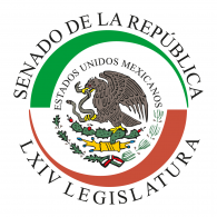 Logo of Senado Mexico LXIV Legislatura