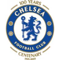 Logo of Chelsea FC 100th Anniversary