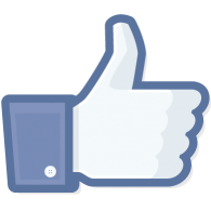 Image result for facebook logo like button