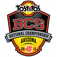 Logo of 2011 Tostitos BCS National Championship Game