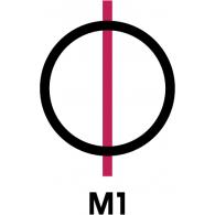 Logo of M1 TV