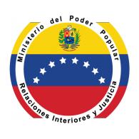 Logo of Ministerio del Poder Popular de Interior y Justicia Venezuela