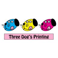 Logo of Three Dogs Printing 3 Dogs Printing