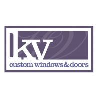 Logo of KV Custom Windows and Doors