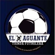 """Logo of El Aguante """" Tienda Futbolera """""""