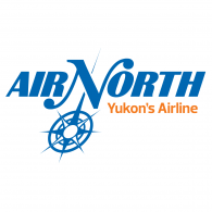 Logo of Air North, Yukon's Airline
