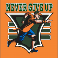 WWE John Cena Never Give Up You Cant See Me Pendant  |John Cena Logo Never Give Up 2014