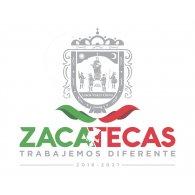 Logo of Zacatecas Gobierno del Estado Trabajemos Diferente