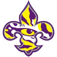 lsu tigers brands of the world download vector logos and logotypes rh brandsoftheworld com lsu logos images lsu logos eye tiger