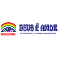Logo of Igreja Deus é Amor