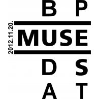 Logo of Muse Budapest 2012 11 20