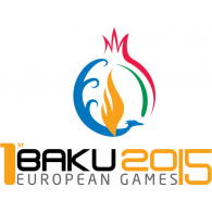 Logo of Baku 2015 First European Games
