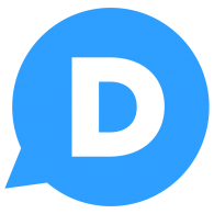 Logo of Disqus social icon