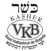 Logo of Vaad HaKashrut de Bogotá