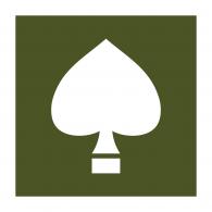 Logo of 506th / 101st Airborne Helmet Spade