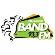 Logo of Band FM 93,3 Três Lagoas