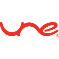 Logo of UNE