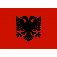 Logo of Albania flag